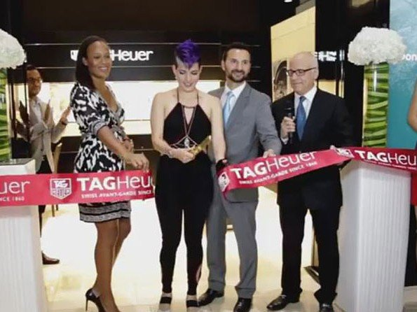 TAG Heuer - Video. Panama boutique opening