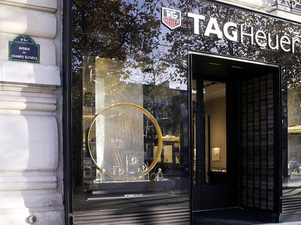 TAG Heuer  - New Flagship Store in Paris