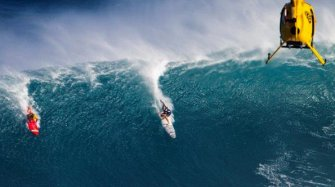 TAG Big Wave Surfing