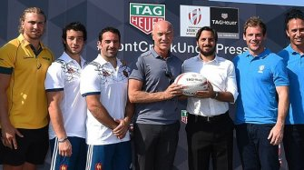 TAG Heuer enters the world of Rugby Sevens