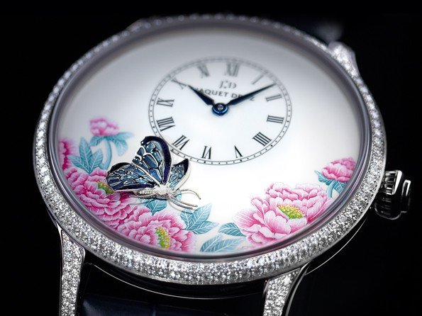 Jaquet Droz - The second stops, the woman awakens