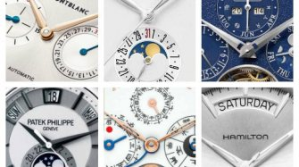 A look at the latest watches with different calendar complications
