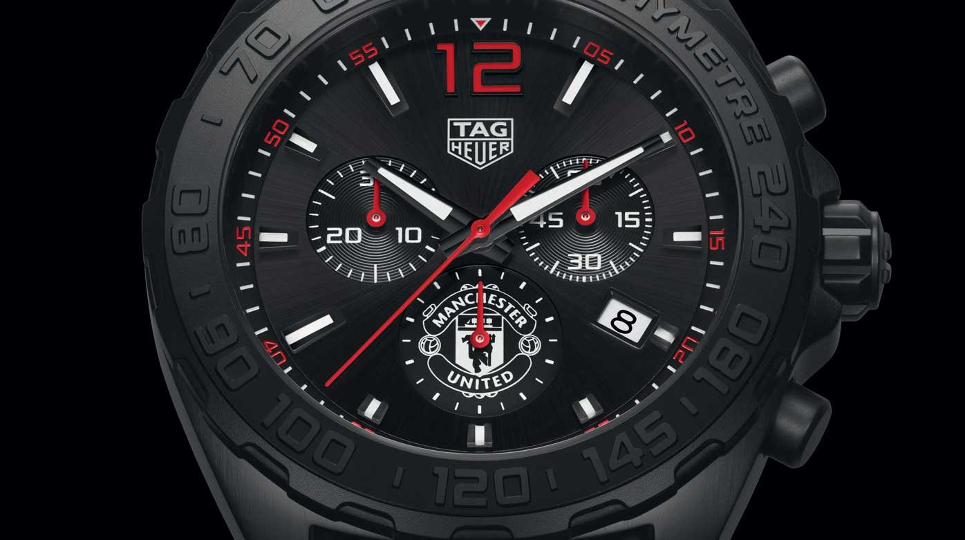 TAG Heuer - Formula 1 Chrono Manchester United Special Edition