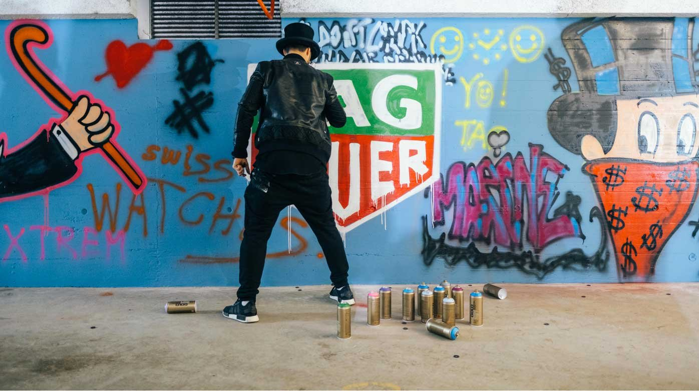 TAG Heuer - Alec Monopoly at the manufacutre