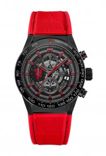 Carrera Heuer-01 Manufacture Chronograph Manchester United Special Edition
