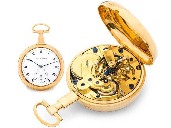 Antiquorum - Urban Jürgensen pocket watch shatters estimate