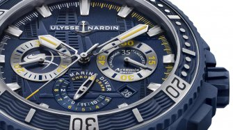 Diver Chronograph Artemis Racing Trends and style