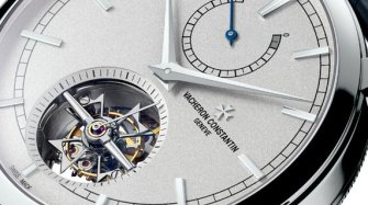 Patrimony Traditionnelle tourbillon 14 jours Collection Excellence Platine
