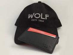 Win a Wolf cap and card holder - A new competition every day
