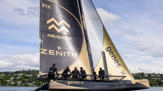 Ladycat ready for start of the Bol d'Or Mirabaud