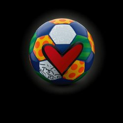 Hublot's symbol for the FIFA World Cup. © Fred Merz/Hublot