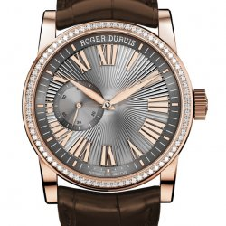 Hommage Automatic, pink gold, set wit diamonds  © Roger Dubuis