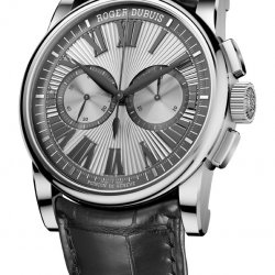 Hommage Chronographe, or blanc © Roger Dubuis