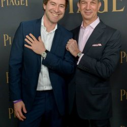Mark Duplass et Philippe Leopold Metzger, CEO de Piaget © Stefanie Keenan/Getty Images for Piaget