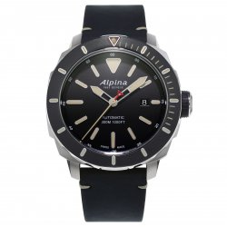 Alpina Seastrong Diver 300 with grey bezel (ref. AL-525LBG4V6) © Alpina