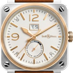 BR 03-90 Steel and Rose Gold © Bell & Ross