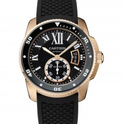 Calibre de Cartier Diver, or rose © Cartier