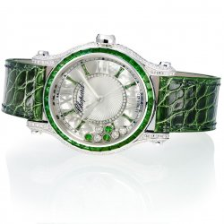Chopard, Happy Sport Medium Automatic Joaillerie