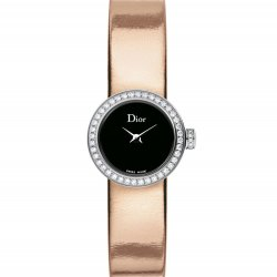 Mini D de Dior Miroir, pink gold colour strap. © Dior