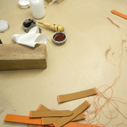 Leather Strap - Hermès - Leather straps in production