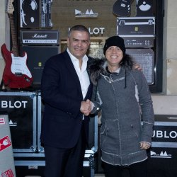 Hublot - In Paris, Martin Gore from Depeche Mode and the CEO of Hublot Ricardo Guadalupe came together to launch a important