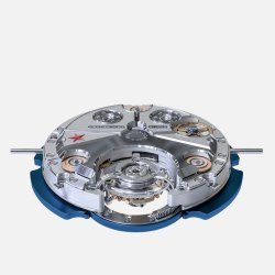 Self-winding movement with automatic flying tourbillon with annular oscillating weight © Montandon & Co