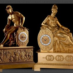 Historical scoop – a story of two divinities, Mars and Minerva. In 1817, Louis Moinet made two clocks, depicting Mars and Minerva, the gods of War. Mars for the Tsar of Russia, Alexander I; and Minerva for James Monroe, the fif