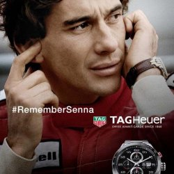The 2015 ad campaign © TAG Heuer