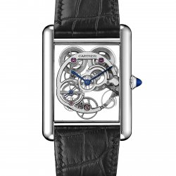 Tank Louis Cartier Skeleton © Cartier