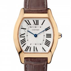 Tortue watch, medium, pink gold © Cartier