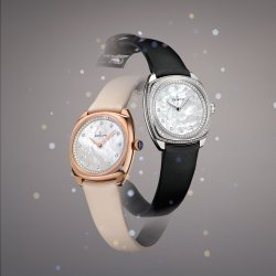 Star, rose gold and white gold © Zenith