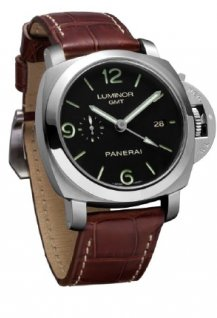PAM00320 - Luminor 1950 3 Days GMT Automatic Back 44mm Steel