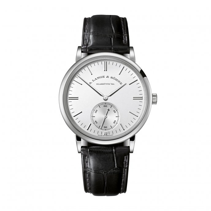A. Lange & Söhne Saxonia Automatic 380.027 watch face view