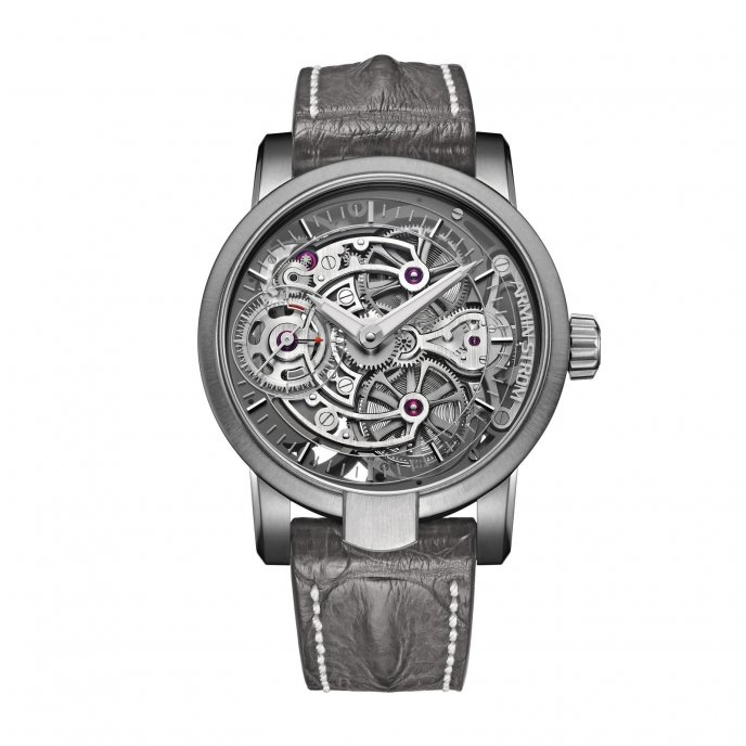 Armin Strom Skeleton Pure Air TI15 PA.RH watch face view