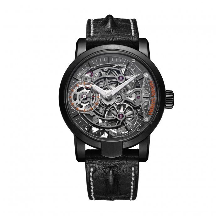 Armin Strom Skeleton Pure Earth ST15-PE.40 watch face view