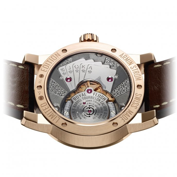 Armin Strom Special EditionTourbillon Royal Flush - Watch back view