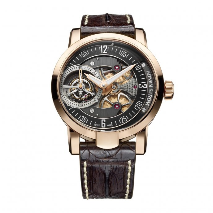 Armin Strom Special EditionTourbillon Royal Flush - Watch face view