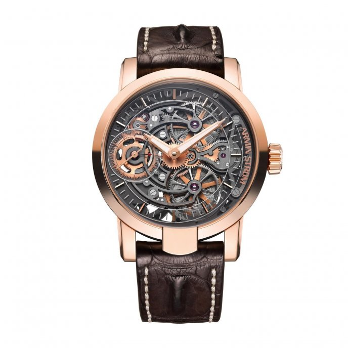 Armin Strom Skeleton Pure Fire RG15-PF.5N  watch face view