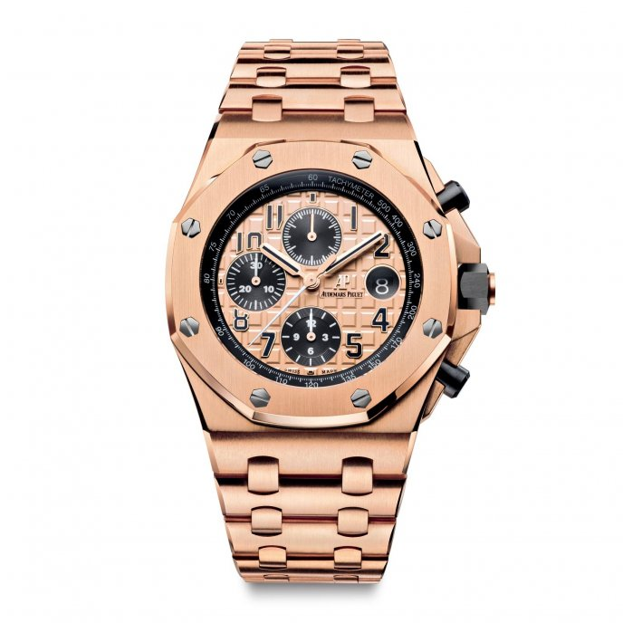 Audemars Piguet Royal Oak Offshore Chronograph 26470OR.OO.1000OR.01 - watch face view