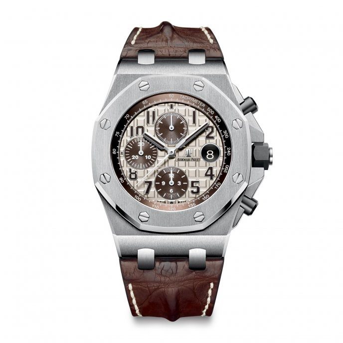 Audemars Piguet Royal Oak Offshore Chronograph 26470ST.OO.A801CR.01 - watch face view