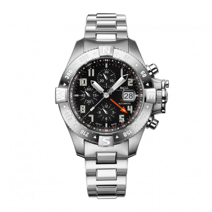 Ball Watch Engineer Hydrocarbon Spacemaster Orbital II DC3036C-SA-BK - face view