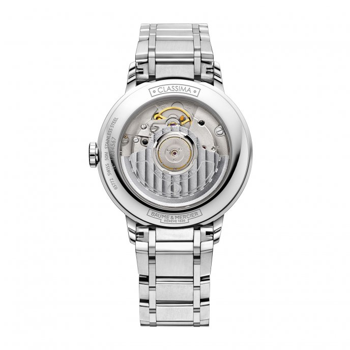 Baume & Mercier Classima Femme Automatique Acier 10220 Watch Back View