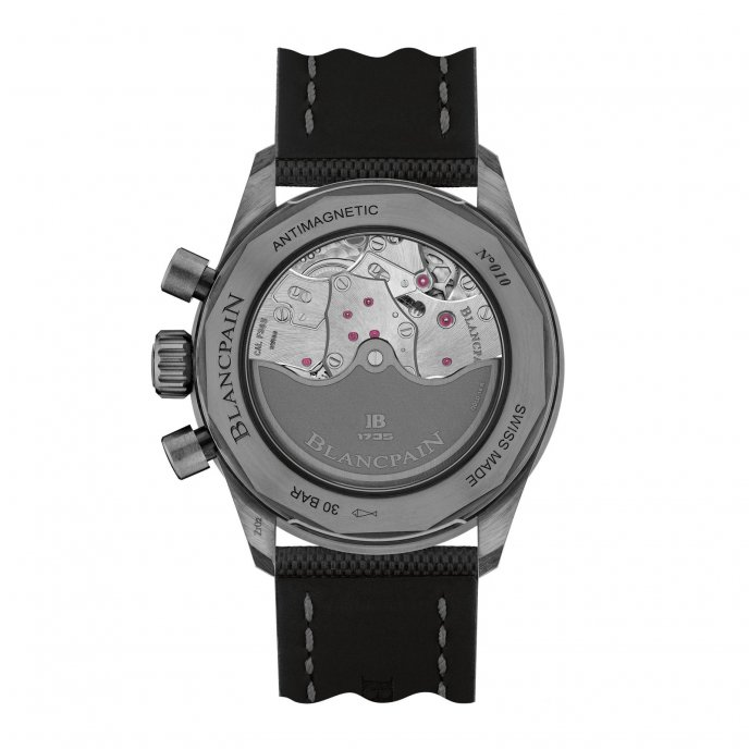 Blancpain Bathyscaphe Flyback Chronograph watch-back-view