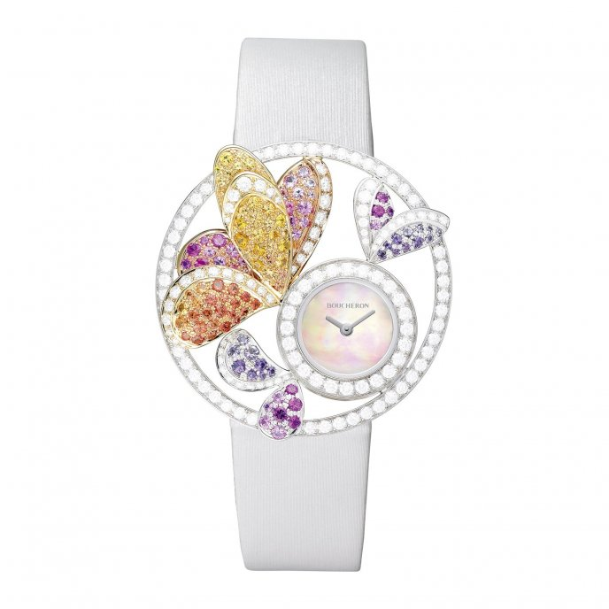 Boucheron Ajourée Bouquet d'Ailes WA017304 - watch face view