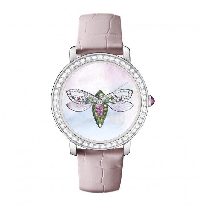 Boucheron Epure Cicada WA021408 - watch face view