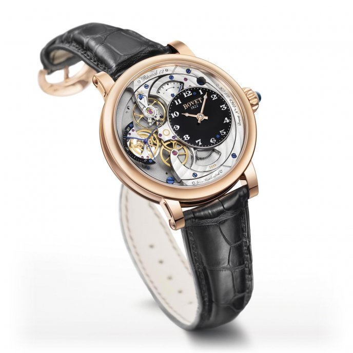Bovet Dimier Récital 12 « Monsieur Dimier » - watch face view