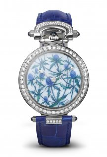 "Amadeo® Fleurier 39 ""Blue Thistles"""