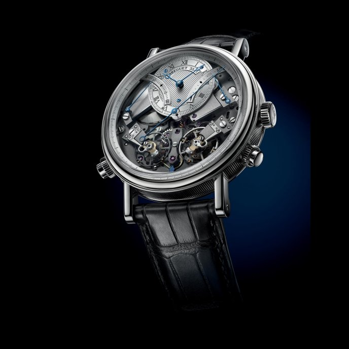 Breguet Tradition Chronographe Indépendant 7077BB/G1/9XV Watch Front View