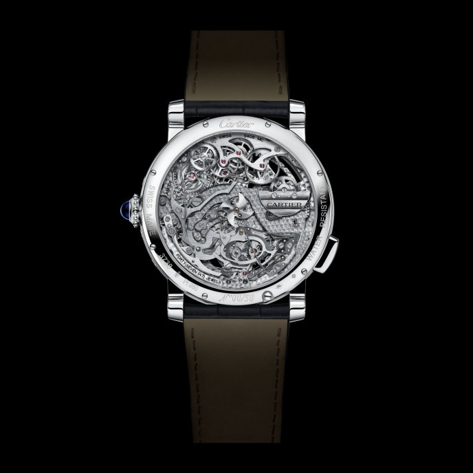 Cartier Rotonde Grande Complication Calibre 9406 MC Watch Back View