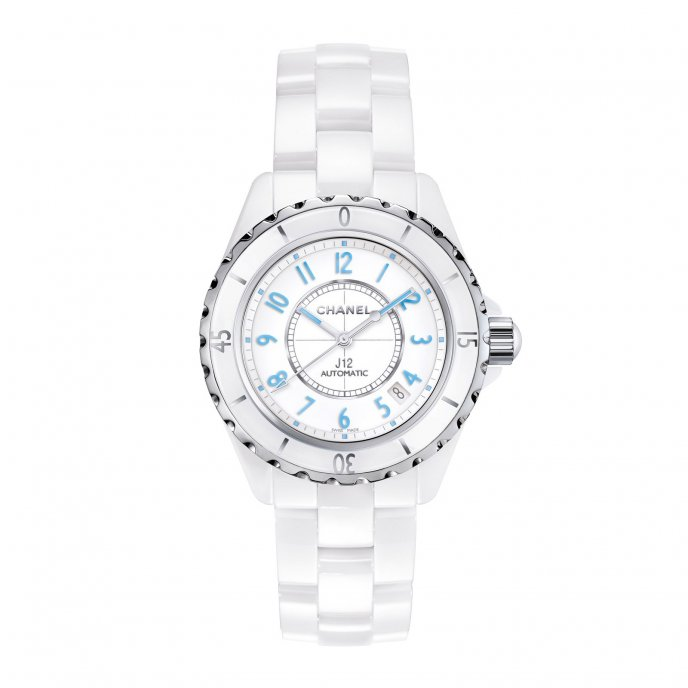 Chanel J12 Blue Light 38mm H3821 - watch face view